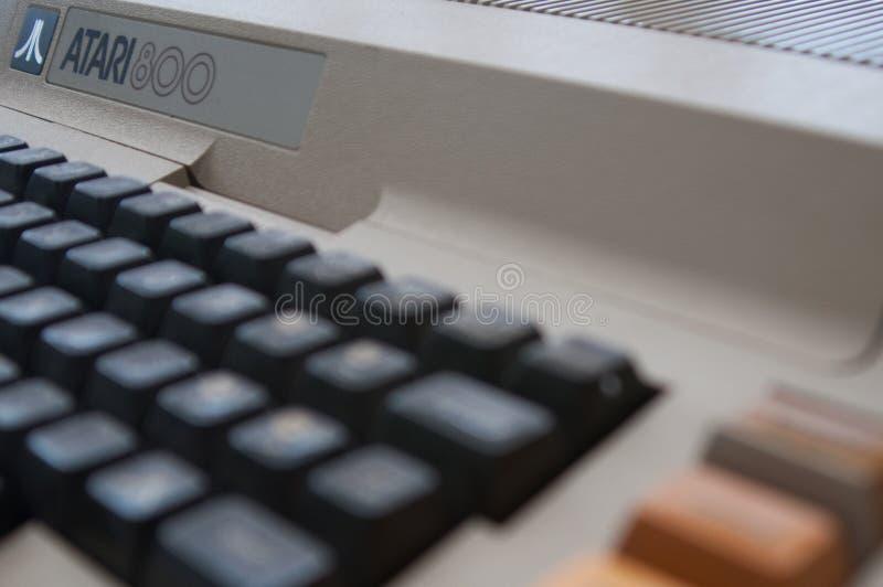 Atari 800 computer royalty-vrije stock fotografie