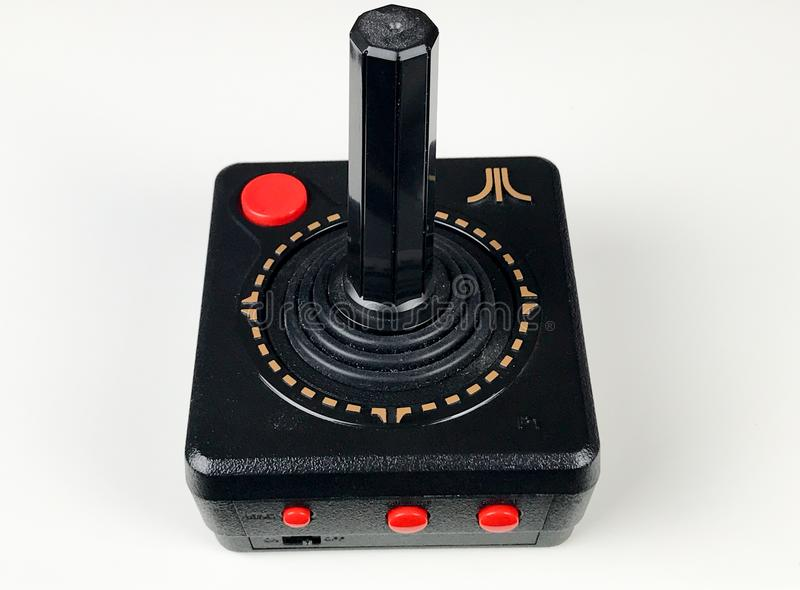 Atari Joystick royalty free stock images