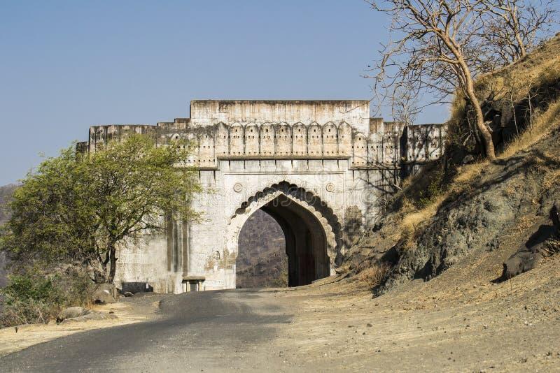 Atasco antiguo Darwaza de la entrada fotos de archivo
