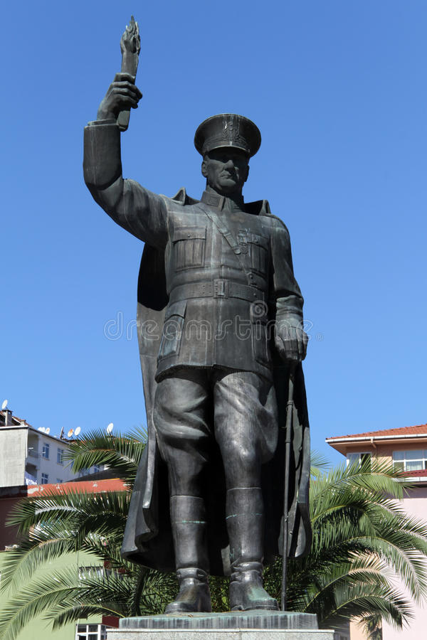 Ataturk Ststue  库存图片