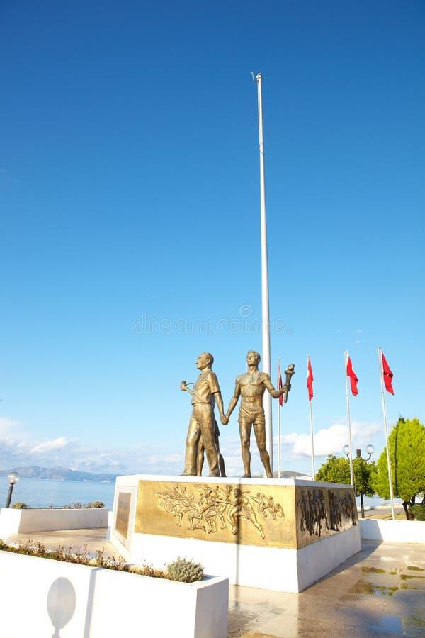 ataturk纪念碑 库存图片