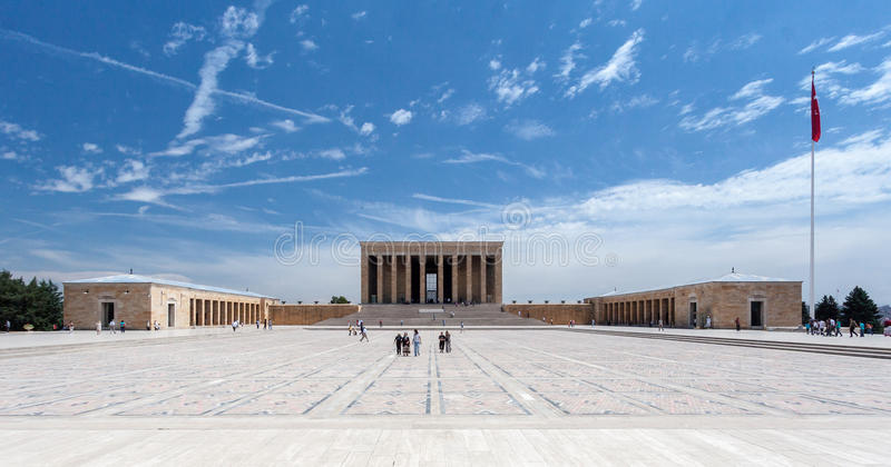 Ataturk陵墓安卡拉 库存照片