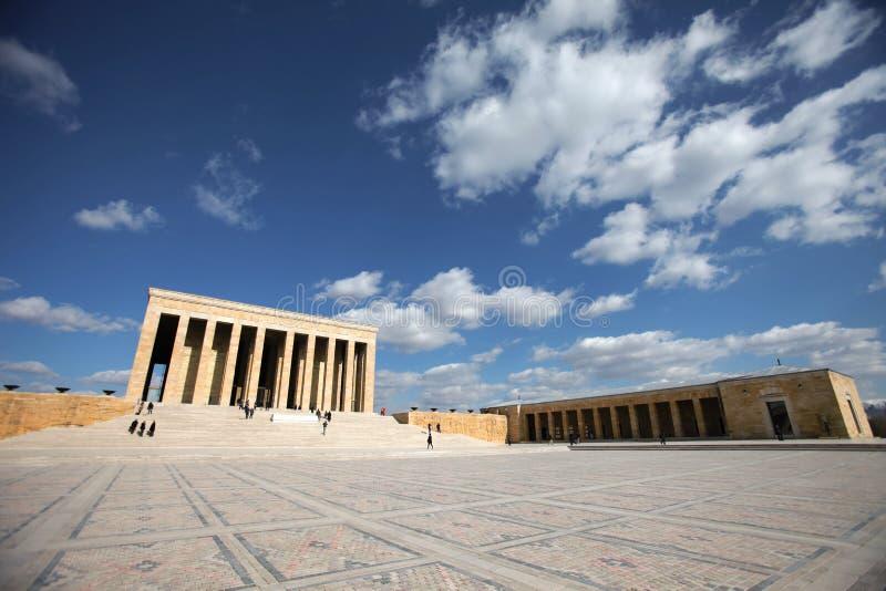 安卡拉, Ataturk -土耳其的陵墓 库存图片