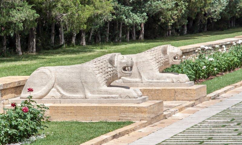Ataturk陵墓安卡拉 库存图片