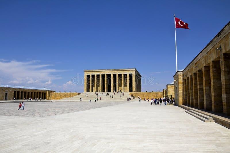 Ataturk陵墓  库存图片