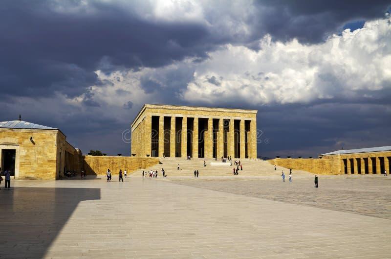 Ataturk陵墓  免版税库存照片