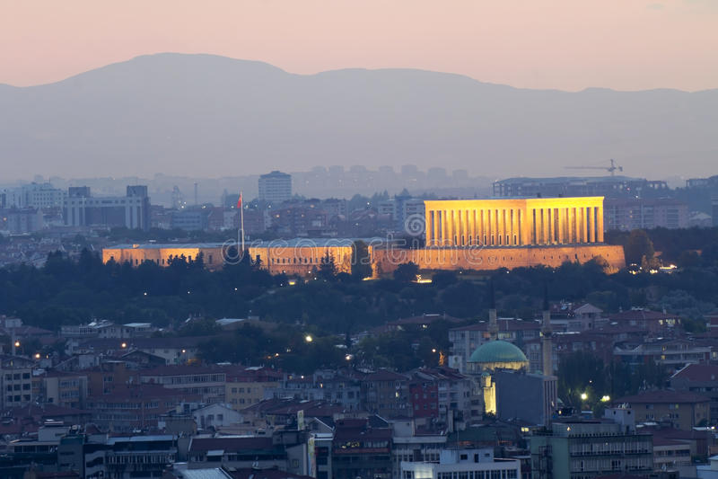 Ataturk陵墓 免版税库存图片