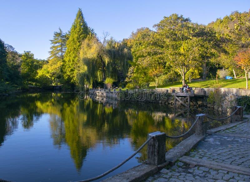 Ataturk arboretum park w Istanbuł zdjęcie stock