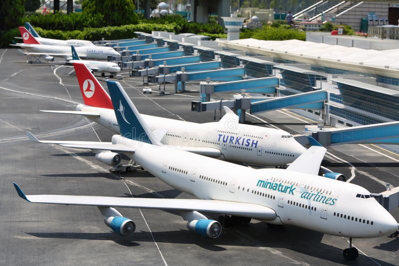 Ataturk Internationale Luchthaven stock foto