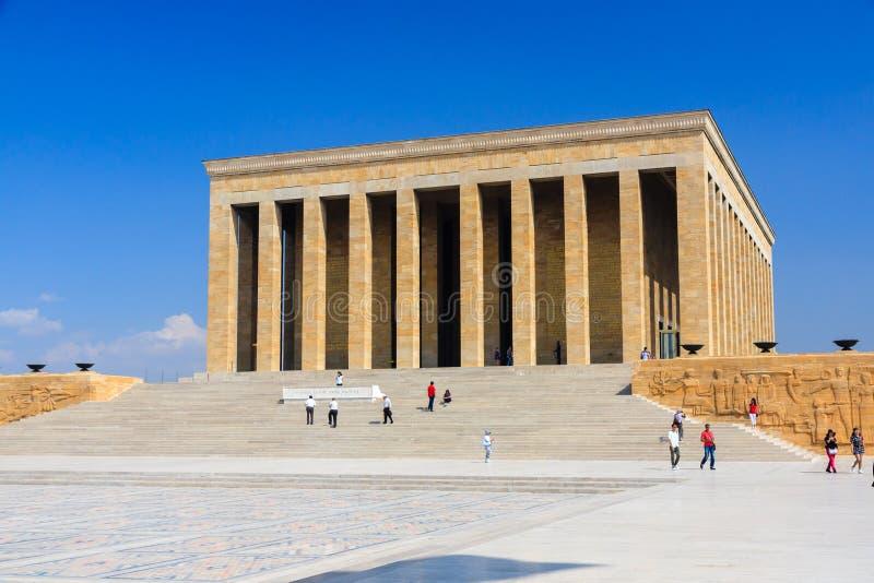 Ataturk Mausoleum stockfotografie