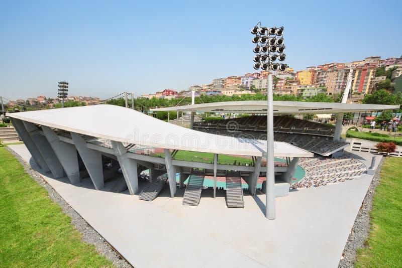 Ataturk stadium Olimpijski układ obraz royalty free