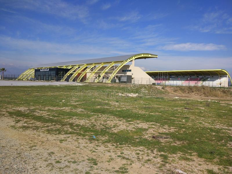 Ataturk Stadium Side Turkey royalty free stock photos