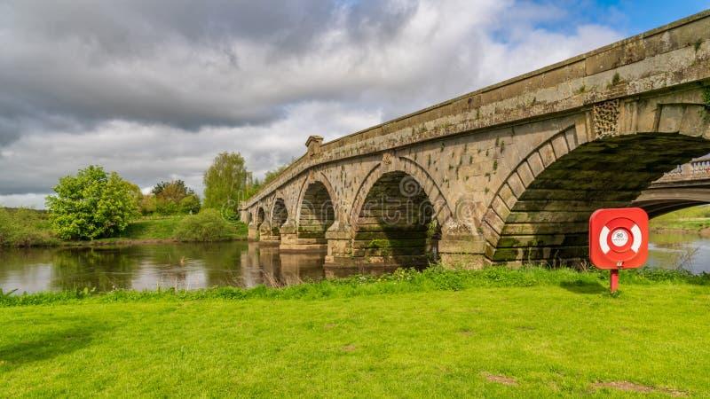 Atcham, Shropshire, Anglia, UK obraz royalty free