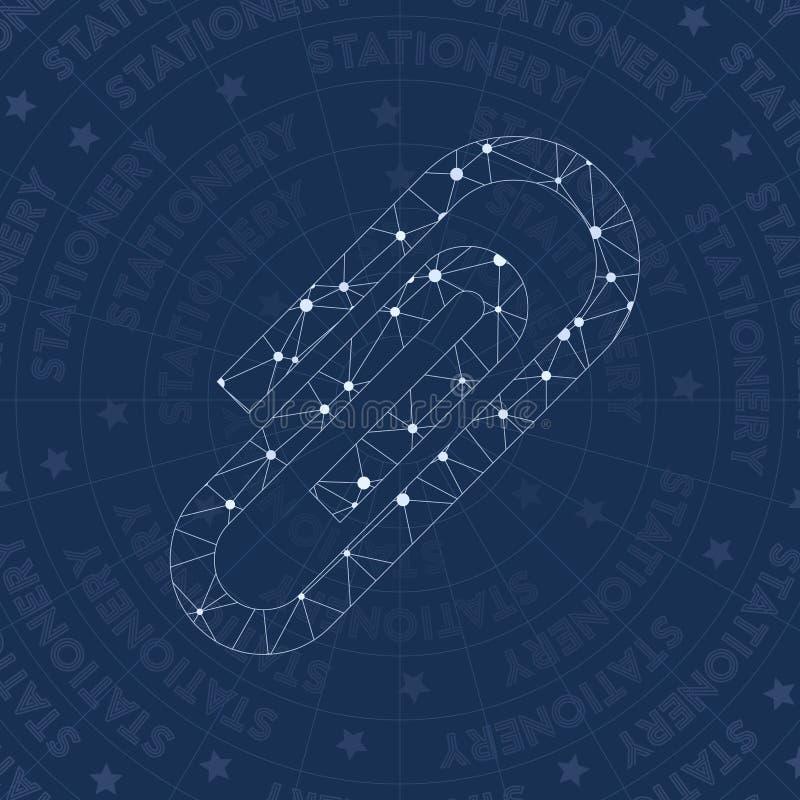 Ate el símbolo de la red stock de ilustración