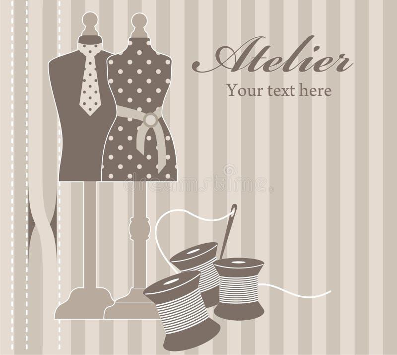 Download Atelier stock illustration. Image of designer, female - 21724106