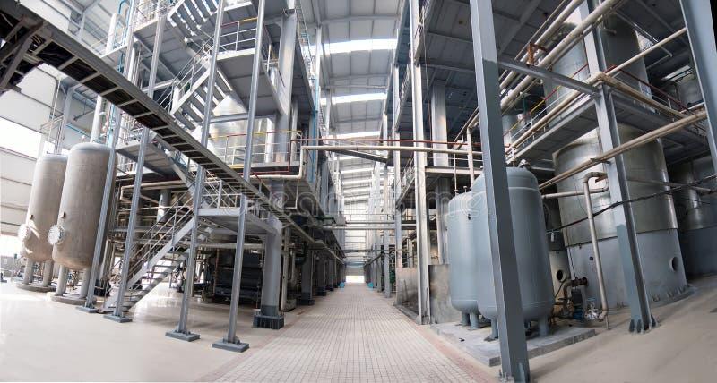 Atelier d'industrie pétrochimique photos stock