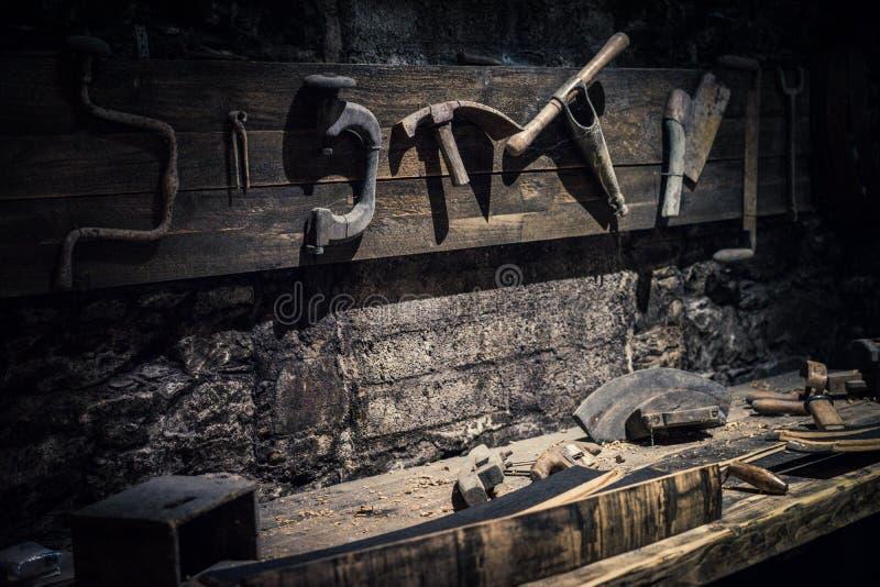 Atelier dans un distillerie de whiskey image stock