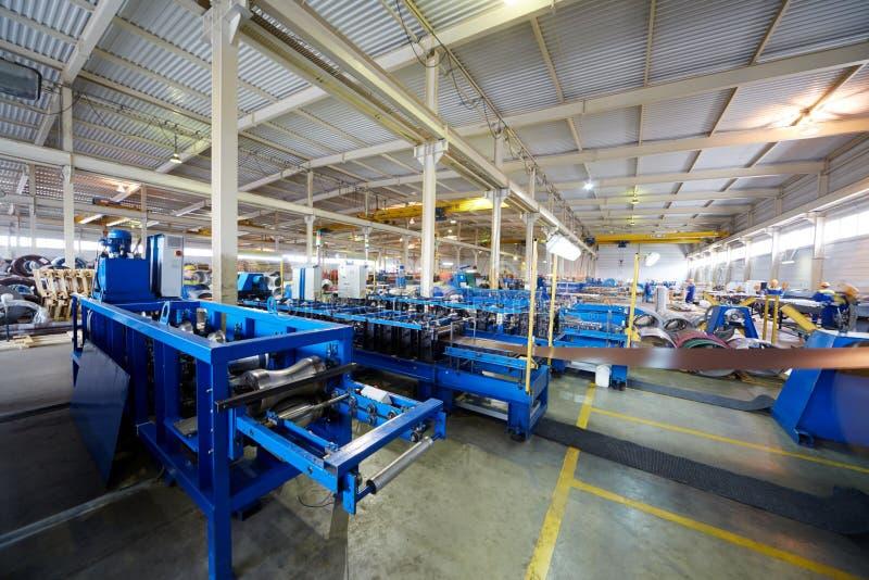 Atelier de fabrication à l'usine images libres de droits