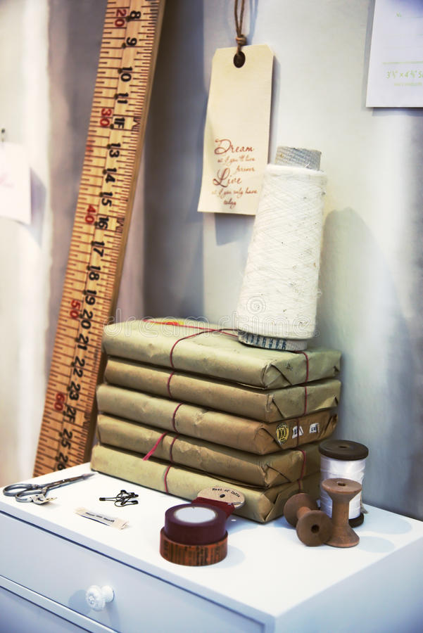 Atelier Domestico Immagini Stock