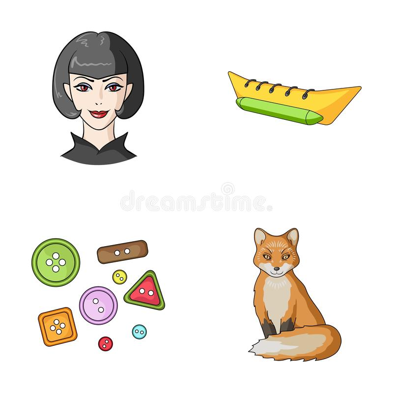 Atelier, travel and other web icon in cartoon style.animal, profession icons in set collection. vector illustration