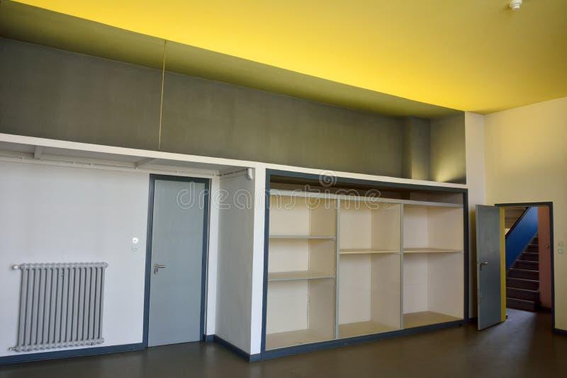 Atelier van het Huis Kandinsky/Klee in dessau-Rosslau stock afbeeldingen
