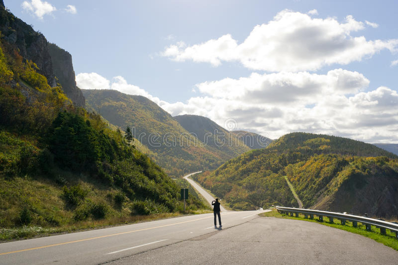 Atemberaubende Landschaft auf Kap-Bretonisch lizenzfreies stockbild