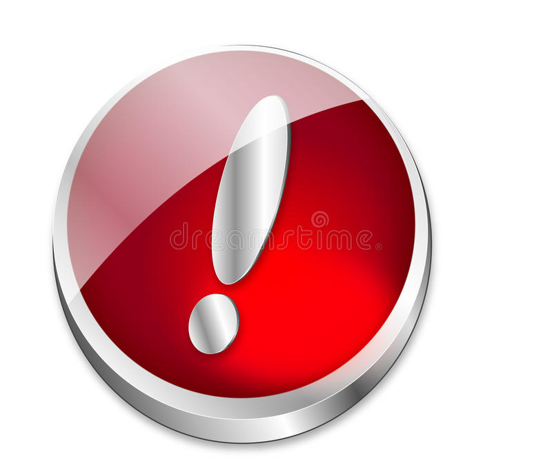 Download Atenção da tecla ilustração do vetor. Ilustração de atenção - 10057371