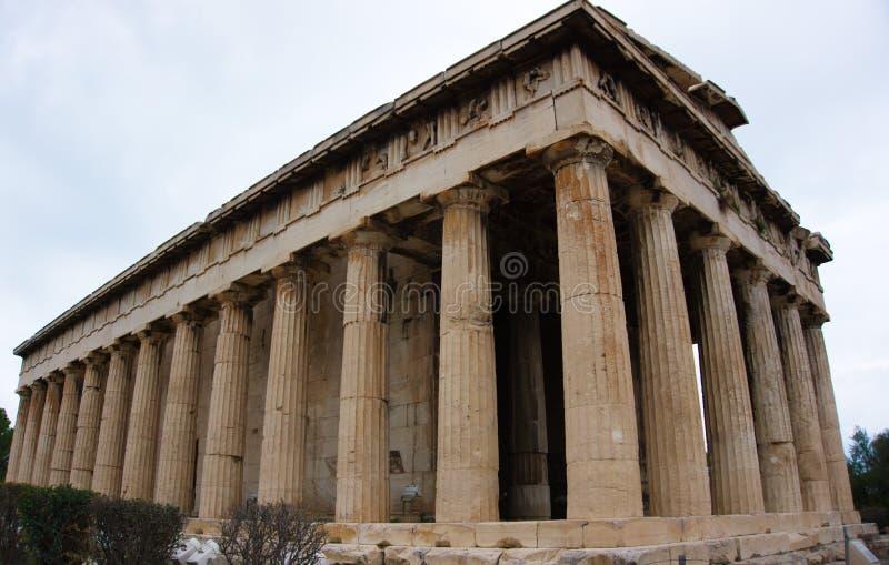 Atena格雷西亚上城 免版税库存图片