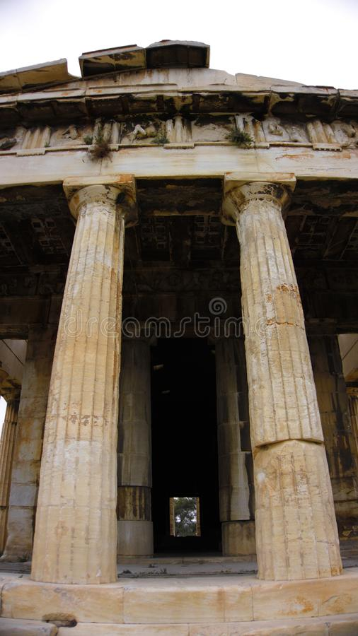 Atena Grecia akropolu Athenas budynek fotografia royalty free