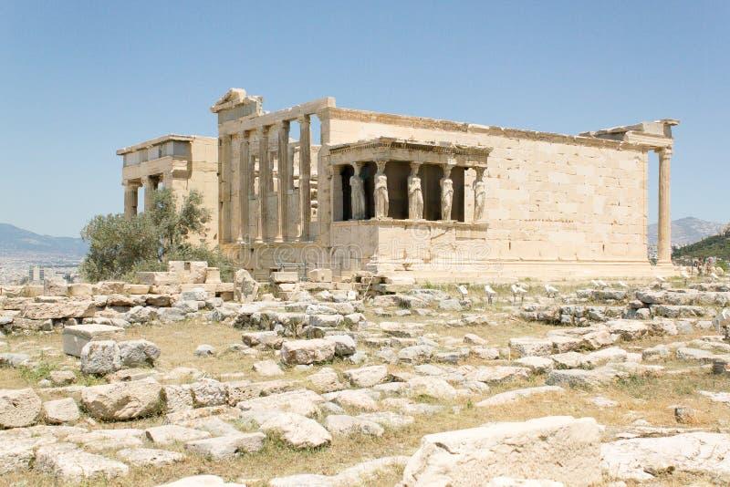 Atenas希腊上城 免版税库存图片