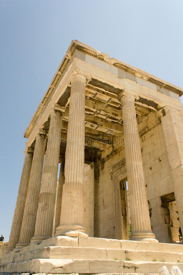 Atenas希腊上城 免版税库存照片