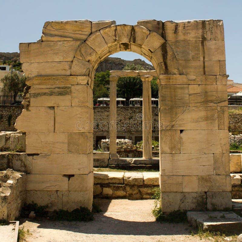 Atenas希腊 免版税库存照片