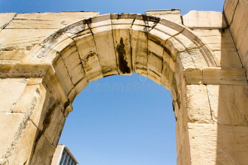 Atenas希腊 库存照片
