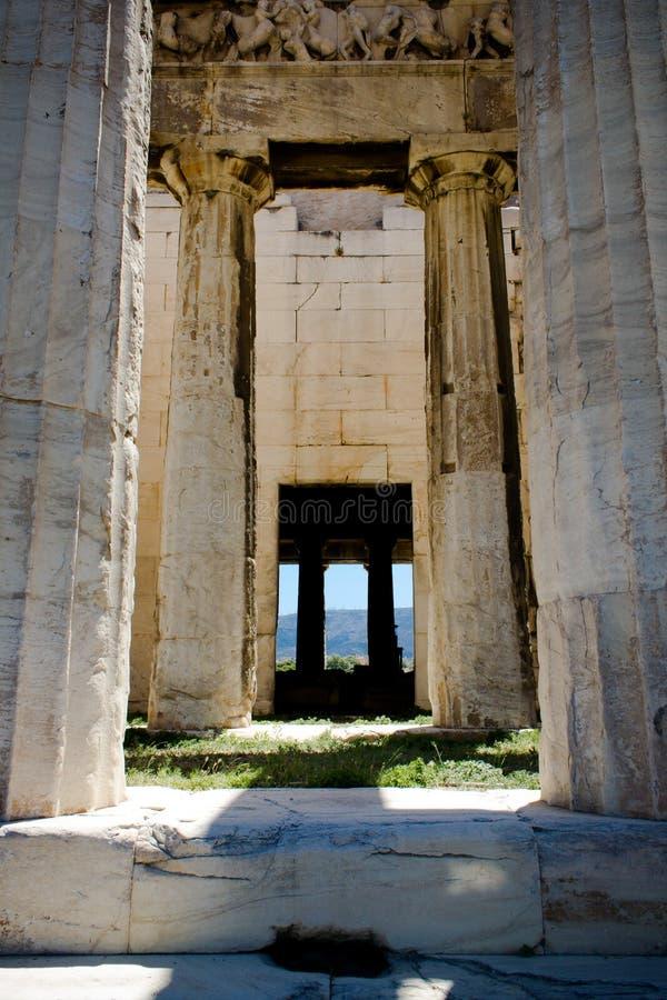 Atenas希腊 图库摄影