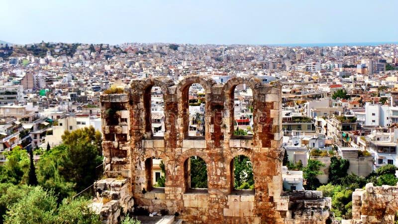 Atenas foto de archivo