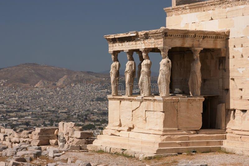 Atenas, acrópolis fotografía de archivo libre de regalías