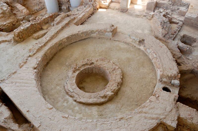Atenas antigua, Grecia foto de archivo libre de regalías