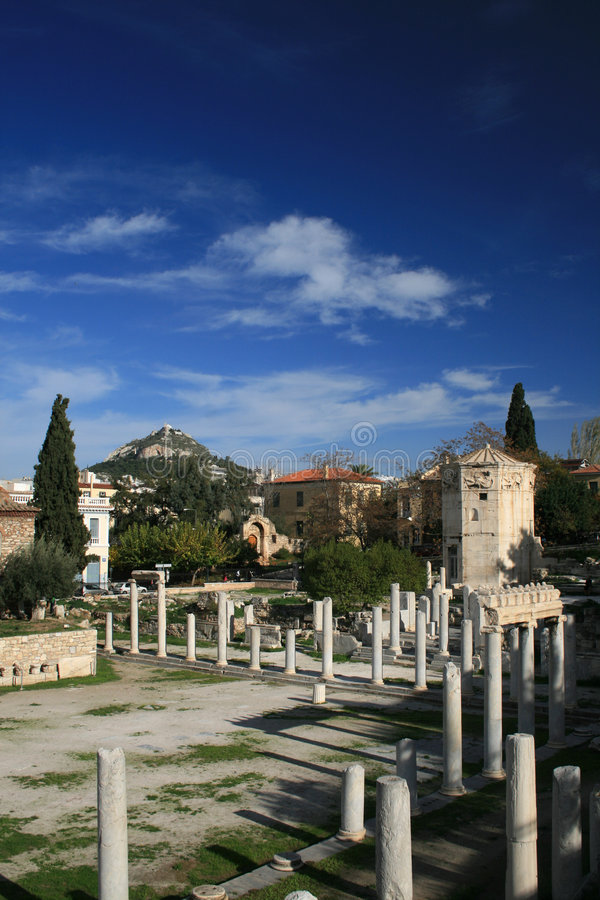 Atenas, Greece fotografia de stock royalty free