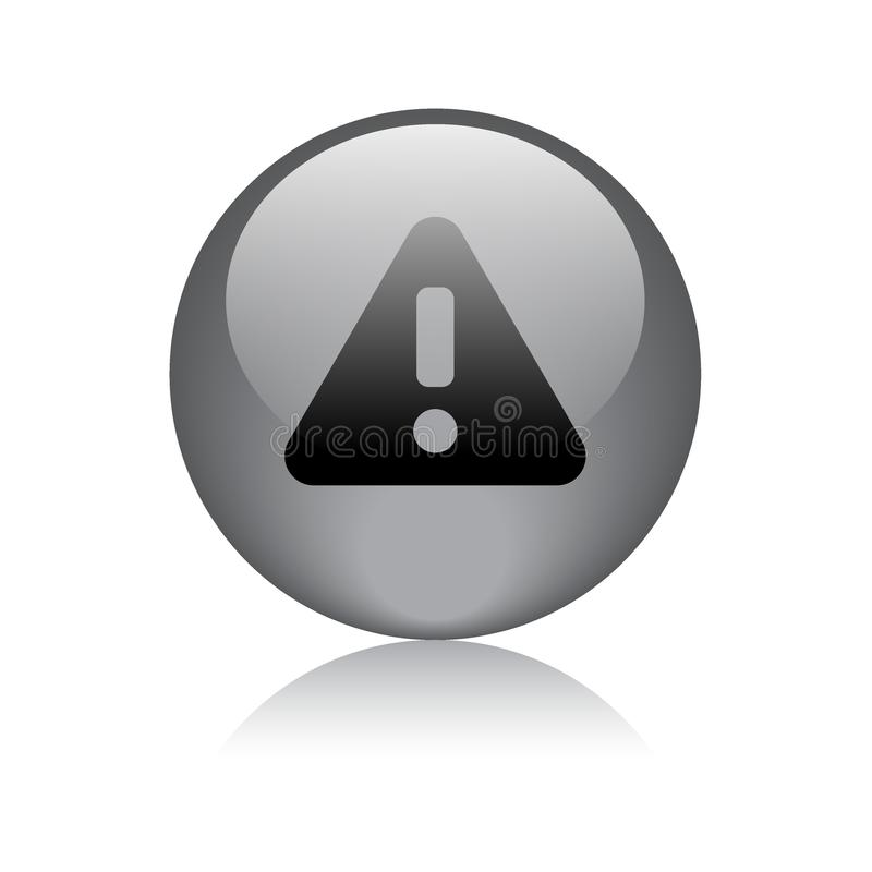 Atención/botón de cuidado del web del icono ilustración del vector