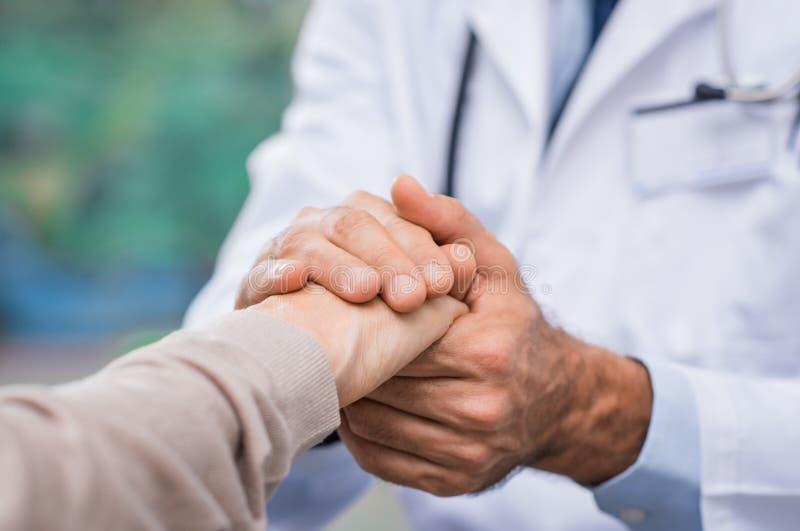 Atención a los pacientes imagen de archivo libre de regalías