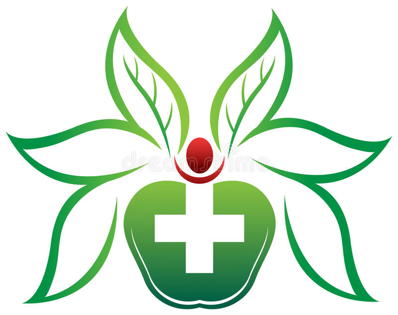 Atención sanitaria herbaria libre illustration