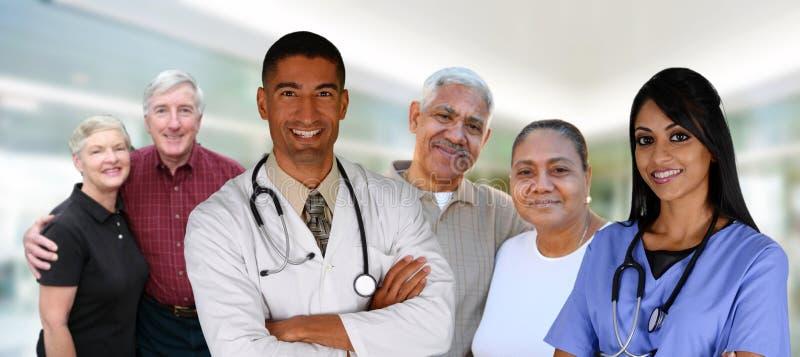 Atención sanitaria mayor fotos de archivo libres de regalías