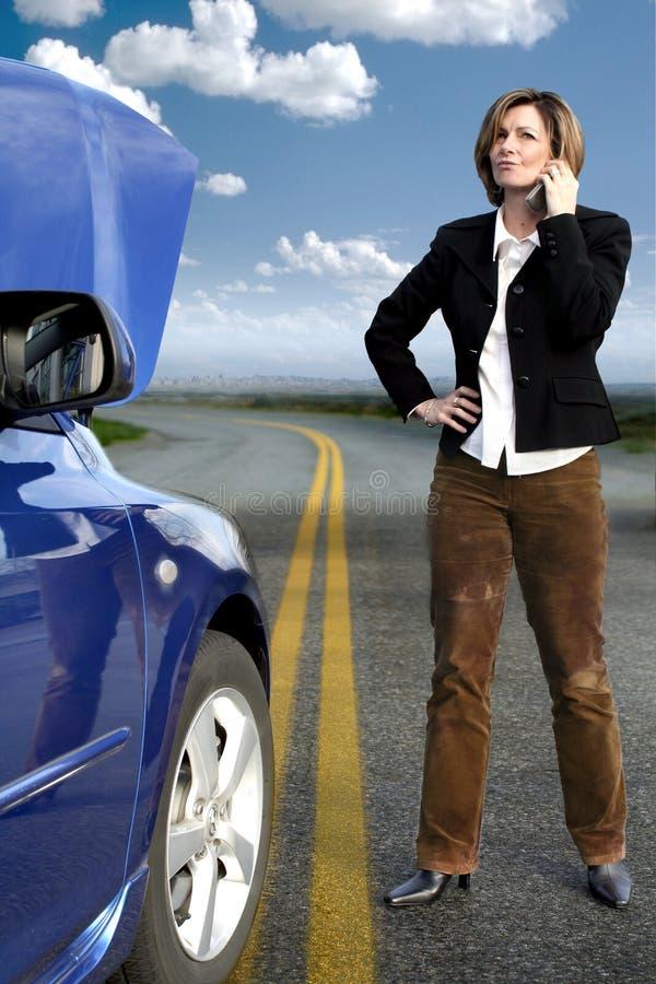Download Atendimento Da Mulher Para A Ajuda Foto de Stock - Imagem de motor, povos: 526758