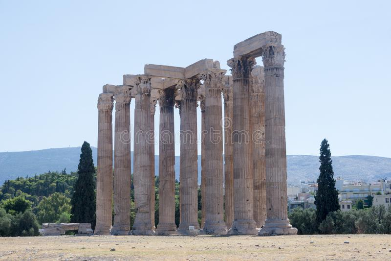 Atene arkivbild