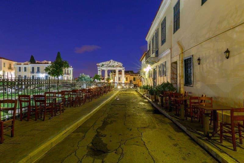 atene Tribuna romana immagini stock