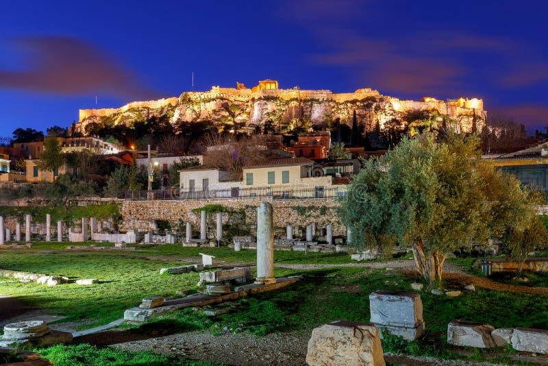 atene Tribuna romana fotografia stock libera da diritti