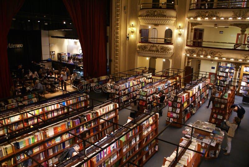 ateneo bookstore el fotografia stock
