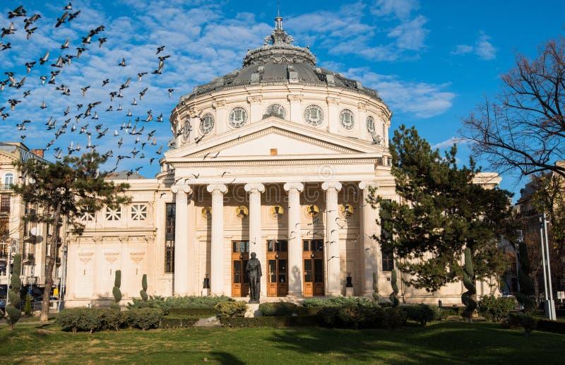 Ateneo rumano imagen de archivo