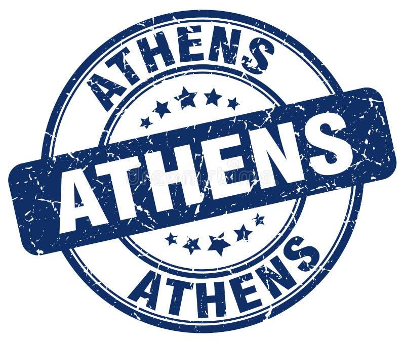 Ateny znaczek royalty ilustracja