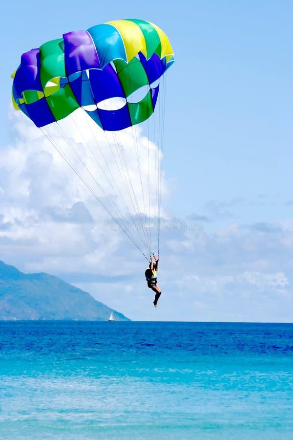 Aterragem das férias do mar de Tropocal imagem de stock